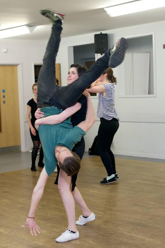 Swing Patrol dance class.