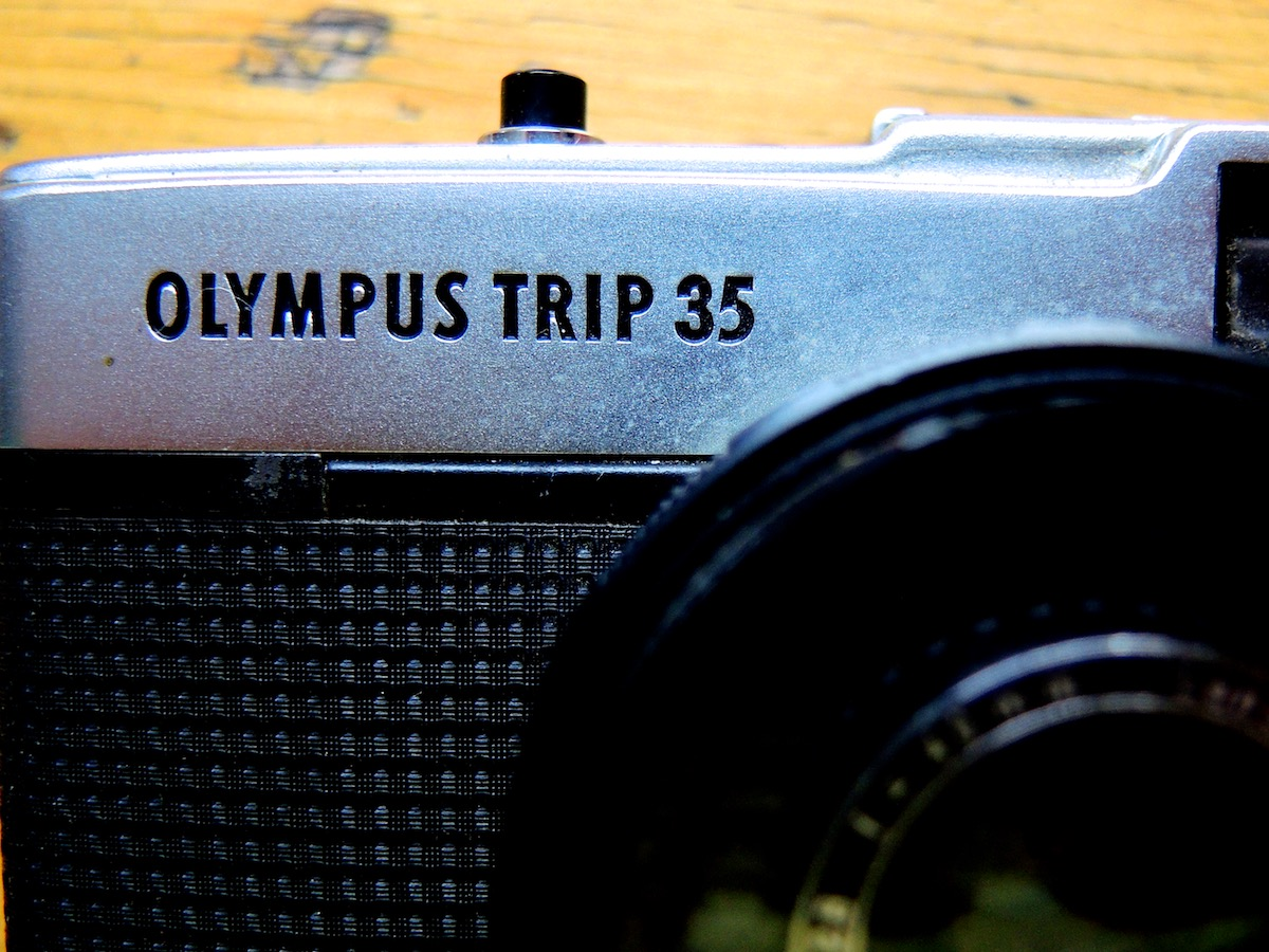 Olympus Trip 35mm - a photographic icon.