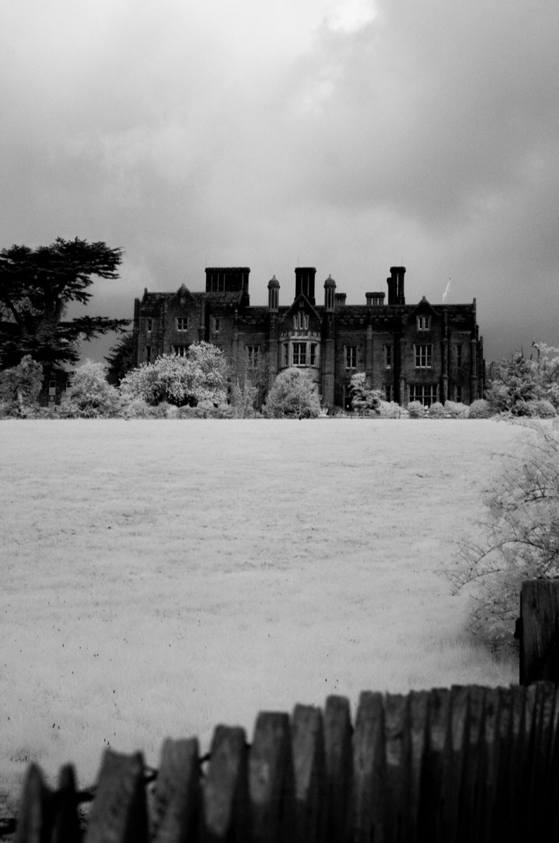 Chenies Manor shot with an infrared converted Nikon D90.