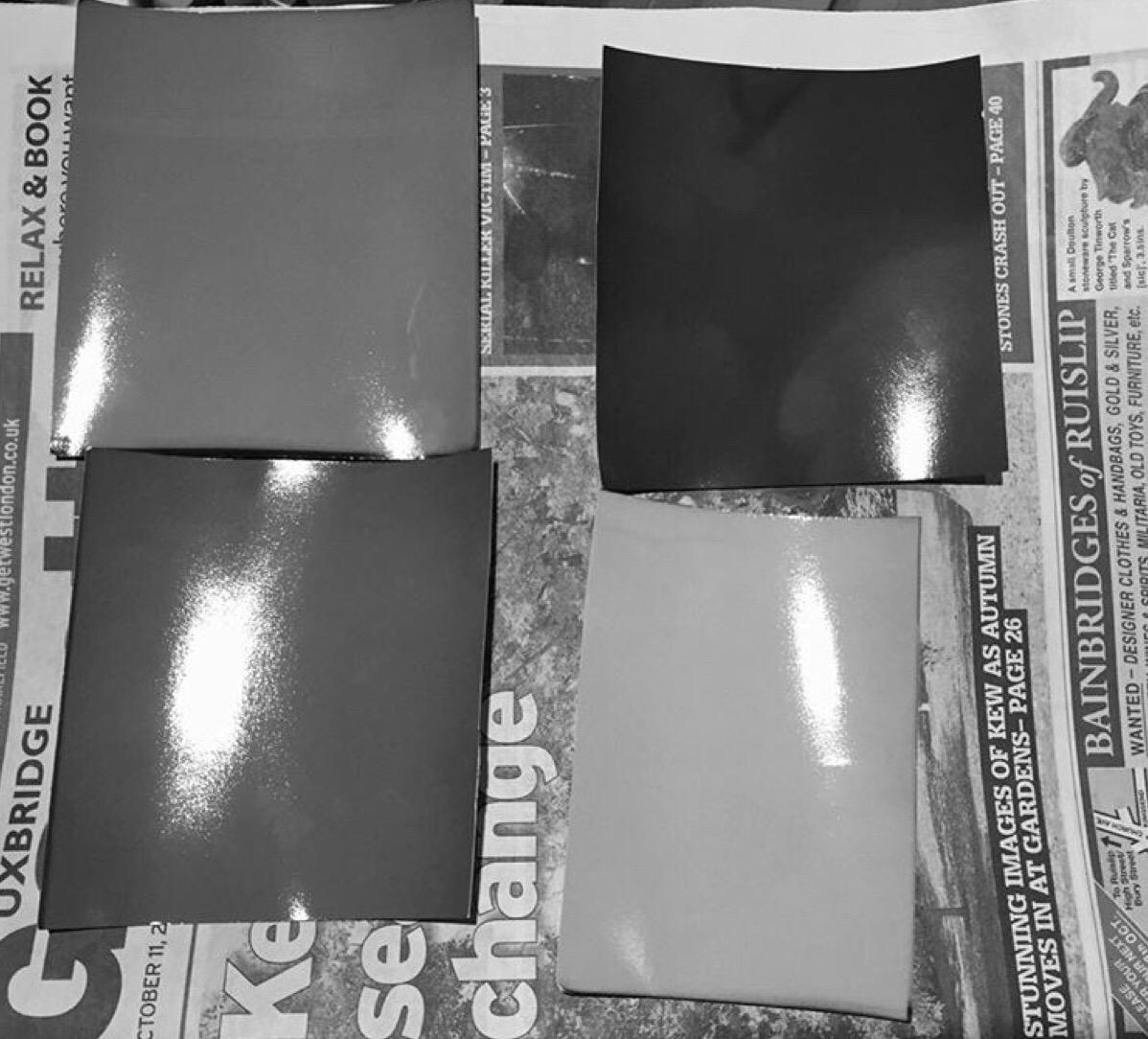 Ceramic Pinhole Camera failures. Fogged Paper.