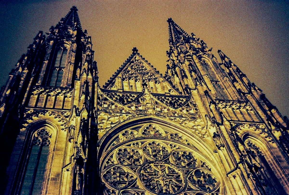 St Vitus Cathedral In Redscale