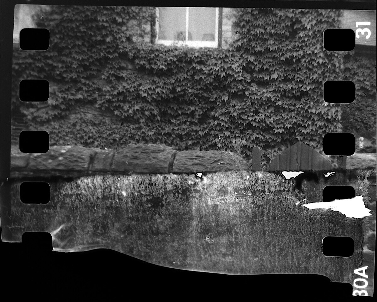 That troublesome end of the roll frame